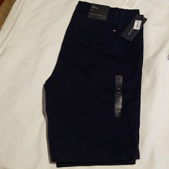 Tommy Hilfiger Pants - Tommy Hilfiger navy Hollywood shorts